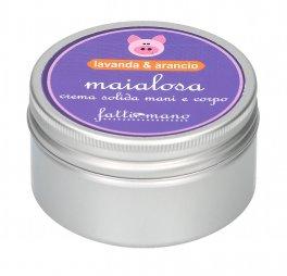 Maialosa - Crema Solida Corpo Karitè Lavanda e Arancio