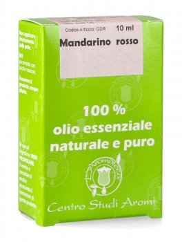 Mandarino Rosso - Olio Essenziale Bio