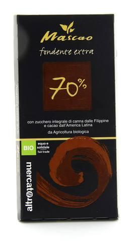 Mascao - Cioccolato Fondente Extra 70%