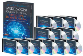 Meditazioni - Omega Healing - Prevention Brain Training - Cofanetto