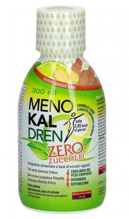 Menokal Dren Zero Zuccheri - Gusto Ginger Lime