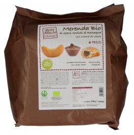 Merenda Bio ai Grani Antichi di Romagna con Crema di Cacao - 6 Pezzi
