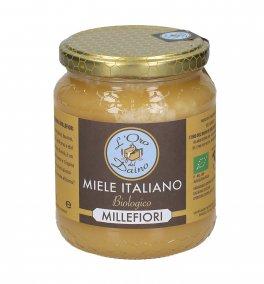 Miele di Millefiori Bio con Erba Medica - 500 g