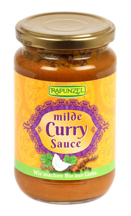 Milde Curry Sauce - Salsa Delicata al Curry