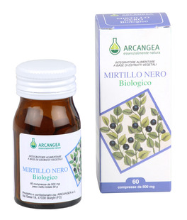 Mirtillo Nero Biologico - Compresse