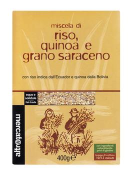 Miscela di Riso, Quinoa e Grano Saraceno