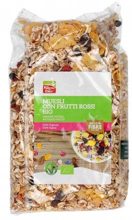 Muesli con Frutta Rossi Bio