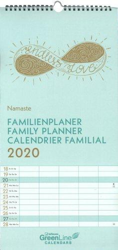 Calendario Solare 2020.Namaste Family Planner Calendario 2020 Calendario