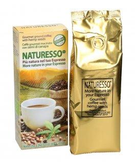 Naturesso - Caffè Gourmet Macinato con Semi di Canapa