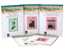 Cofanetto Nikola Tesla - Scritti da I a V