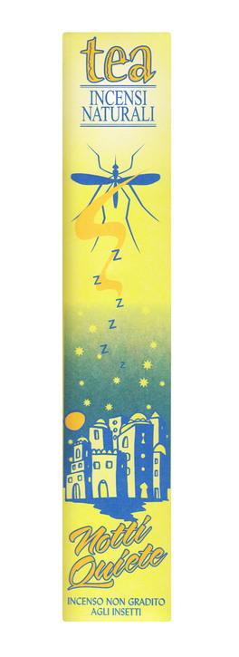 Notti Quiete - Incenso Naturale - 12 Bastoncini