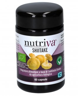 Nutriva Shiitake - 60 Capsule