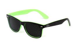 Occhiale Modello Classico Bicolore Nero - Verde