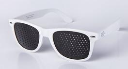 Occhiale Stenopeico Bianco Classico