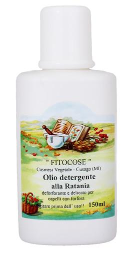 Olio Detergente alla Ratania - Antiforfora