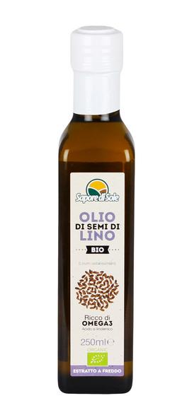 Olio di Semi di Lino Bio