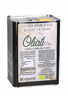 Olio Extra Vergine Di Oliva Biologico Italiano - 3l