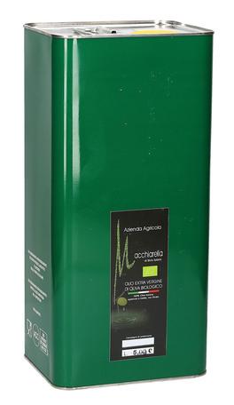 Olio Extra Vergine di Oliva Biologico - Latta Verde