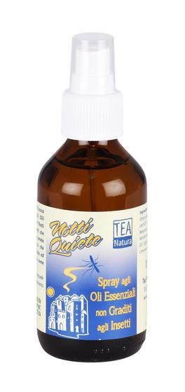 Olio Spray Notti Quiete - Oli Essenziali non Graditi agli Insetti