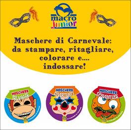 Omaggio Ebook Maschere Di Carnevale Da Stampare Colorare E