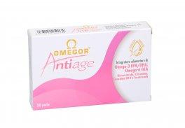 Omegor Anti-Age - Integratore alimentare di acidi grassi Omega-3 EPA/DHA e Omega-6 GLA