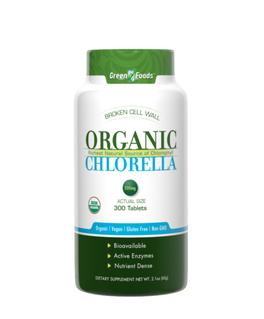 Organic Chlorella - 300 Compresse
