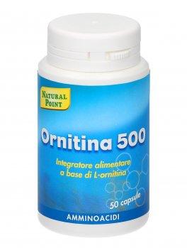 Ornitina 500 - Integratore in Capsule