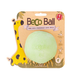 Palla Becoball Extralarge per Cani - 8,5cm - Verde