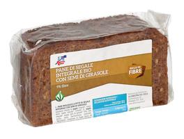 Pane di Segale Integrale Bio con Semi di Girasole