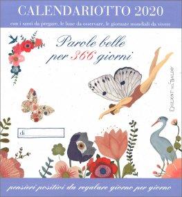 Calendario Mondiali 2020 Pdf.Parole Belle Per 366 Giorni Calendariotto 2020 Calendario