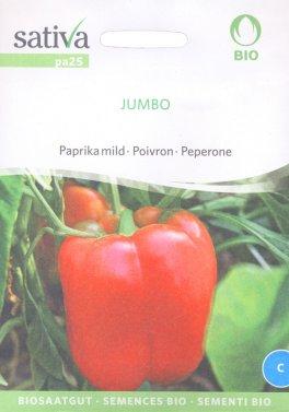 Semi di Peperone Jumbo - 25 Semi