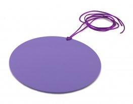 Piastra di Tesla Purpurea - Tonda 10 cm