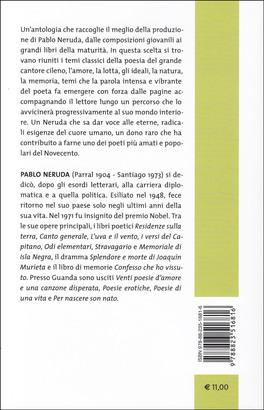 Poesie D Amore E Di Vita Libro Di Pablo Neruda