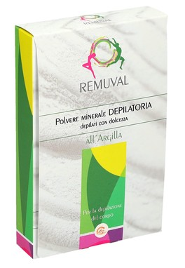 Polvere Minerale Depilatoria all'Argilla