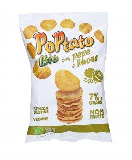 PoPtato Bio - Patatine con Pepe e Limone
