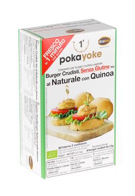 Preparato per Burger Crudisti al Naturale con Quinoa