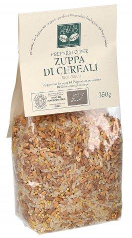 Preparato per Zuppa di Cereali: Riso, Farro, Miglio