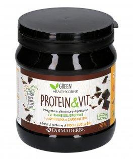 Protein & Vit - Integratore con Vitamine del Gruppo B, Panmol Vitamina D3, Spirulina