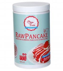 Raw Pancake - Preparato Ipocalorico per Pancake e Waffles, Low Carb, Gusto Red Velvet