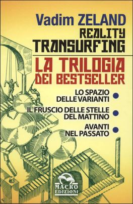 REALITY TRANSURFING - LA TRILOGIA Cofanetto con tre libri - Nuova Grafica di Vadim Zeland