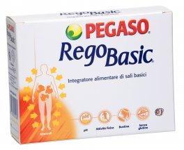 Regobasic - Integratore di Sali Basici di Calcio, Magnesio, Potassio, Sodio, Manganese e Zinco - Bustine