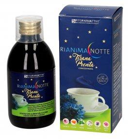 Rianima Notte Tisana - Passiflora, Primula, Escolzia, Valeriana, Griffonia e Lavanda