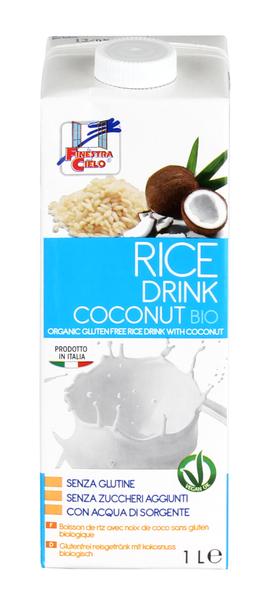 Latte di Riso e Cocco - Rice Drink Coconut
