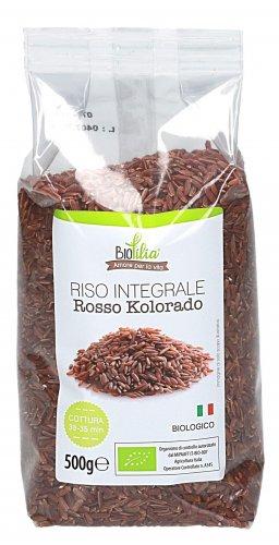 Riso Rosso Integrale Kolorado Biologico e Italiano