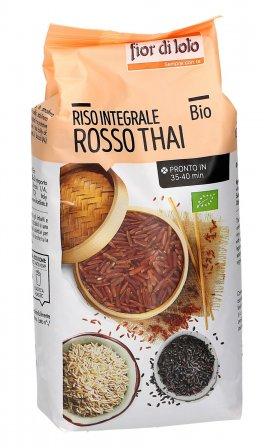 Riso Rosso Thai Integrale Bio
