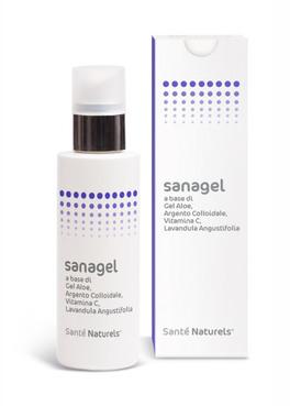 Sanagel - Gel a base di Argento e Vitamina C