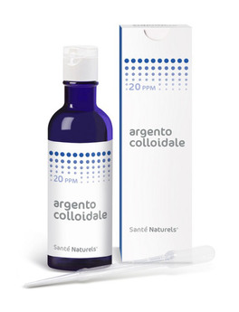 Santè Colloidal Silver - Argento Colloidale - 20 ppm - 200 ml