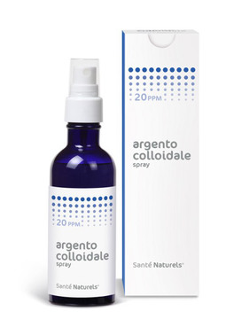 argento colloidale puro spray  Argento Colloidale Spray - 20 ppm Sante Naturels