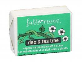 Sapone Naturale Vegano Canapa, Riso e Tea Tree