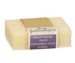 Sapone Naturale Vegano Extravergine Cocco Prugna